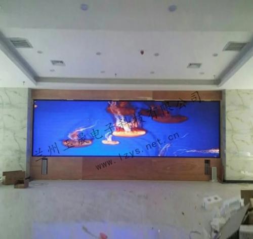 甘肃武都区公安局室内P2.5室内全彩LED显示屏